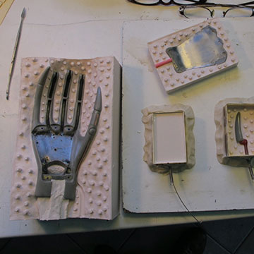 Molds making-of